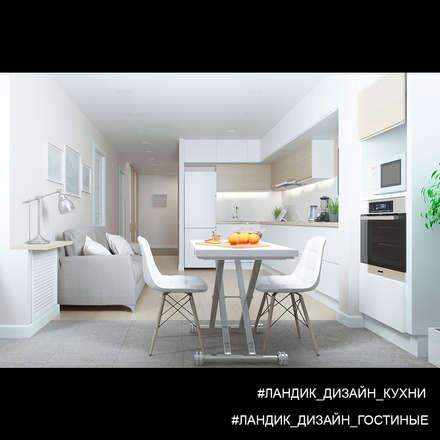 Легкий интерьер для творческой личности: Кухни в . Автор – LANDIK INTERIOR DESIGN