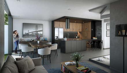 Built-in kitchens by Stuen Arquitectos