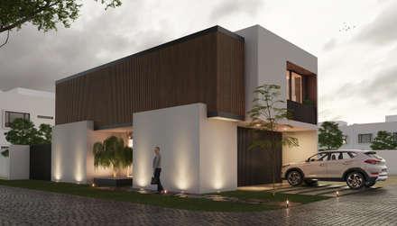 獨棟房 by Stuen Arquitectos