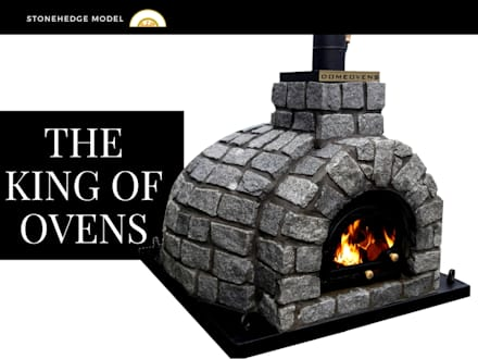 Amazing authentic pizza oven! :  Patios by Dome Ovens™