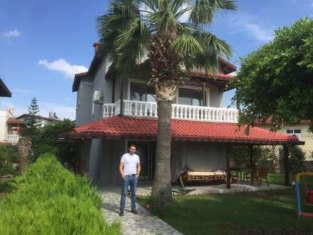 สวนหน้าบ้าน by KÜÇÜKTAŞ MÜHENDİSLİK İNŞAAT
