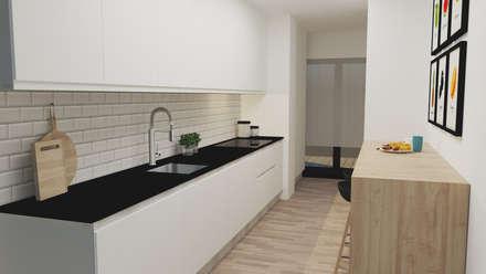 وحدات مطبخ تنفيذ IAM Interiores