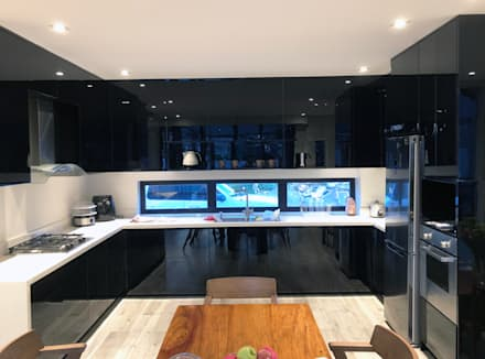 Modular Kitchen - Lucena City, Quezon Province: modern Kitchen by Stak Modern Kitchens