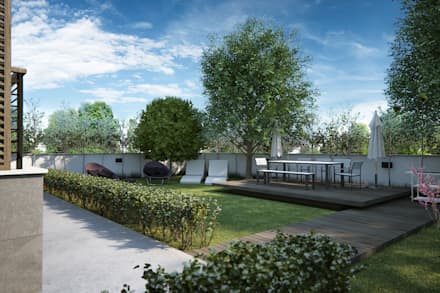 Front yard by yücel partners