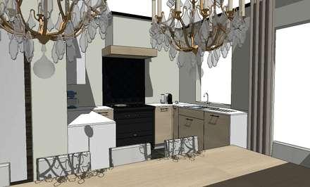 Встроенные кухни в . Автор – De Heeren