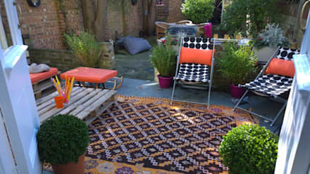 Injecting colour and style in interiors: eclectic Garden by Belle & Cosy Interior Design