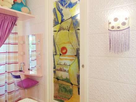 Appartamento 1 - Orta Nova (FG): Camera ragazze in stile  di Studio di Architettura e Design Giovanni Scopece