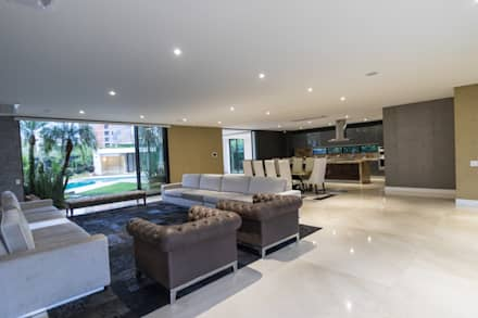 Decoracion Sala Comedor Pequeño Moderno : Decoracion salas comedores casa pance salas de estilo moderno por