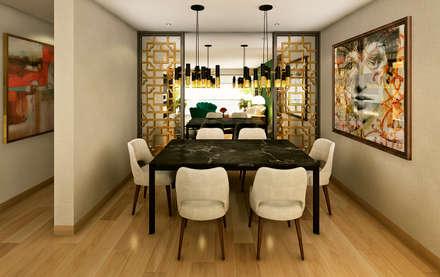 Proyecto PR: Comedores de estilo moderno por Luis Escobar Interiorismo