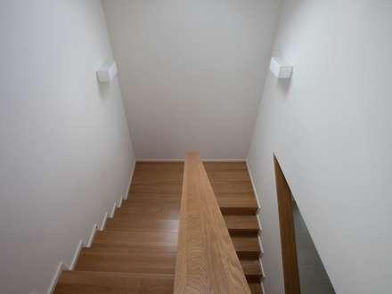 Haus in Weimar:  Treppe von Herrmann Massivholzhaus GmbH