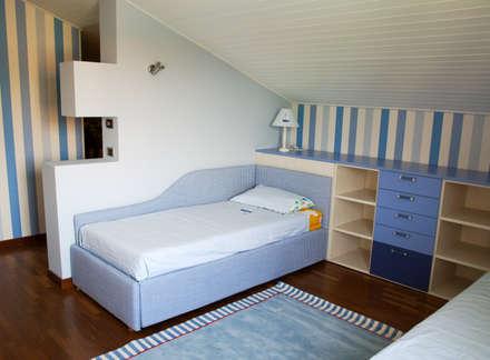 modern Nursery/kid's room by Spaziojunior