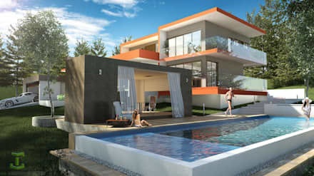 Garden Pool by Eutopia Arquitectura
