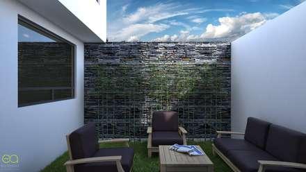 Сад камней в . Автор – Eutopia Arquitectura