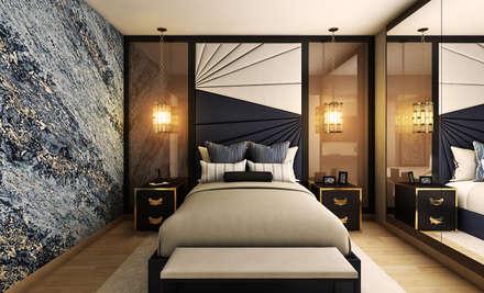 Proyecto WA: Dormitorios de estilo  por Luis Escobar Interiorismo