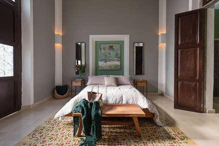 ห้องนอน by Workshop, diseño y construcción