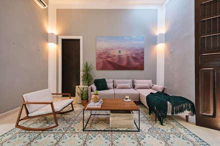 Livings de estilo colonial por Workshop, diseño y construcción