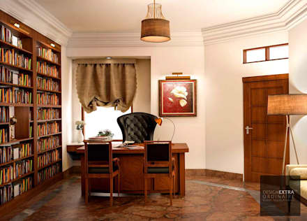 colonial Study/office by homify