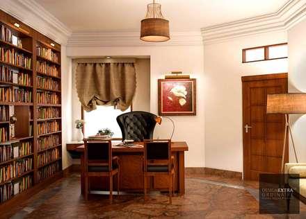 Oficinas de estilo colonial por homify