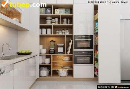 Kitchen units by Thế Giới Tủ Bếp