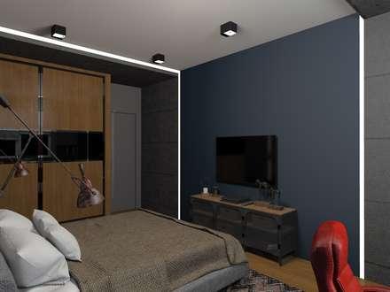 Habitaciones para niños de estilo minimalista por Студия интерьера 'Золотая Середина