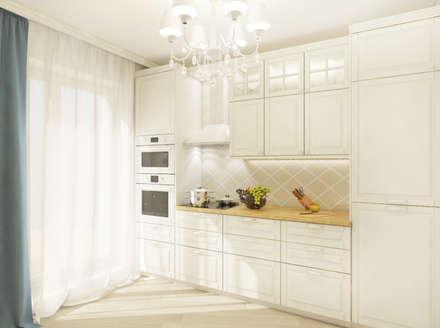 scandinavian Kitchen by Студия Дизайна и Архитектуры VECTOR