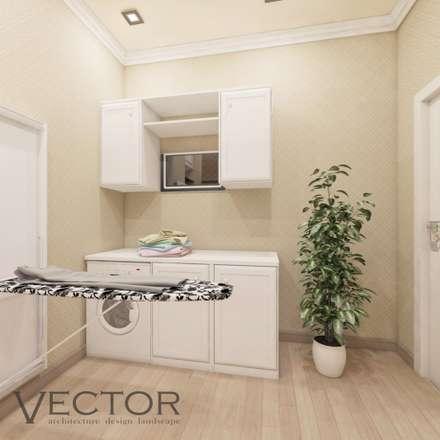 Интерьер загородного дома: Полы в . Автор – Студия Дизайна и Архитектуры VECTOR