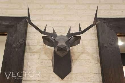 Студия красоты FRESH: Коммерческие помещения в . Автор – Студия Дизайна и Архитектуры VECTOR