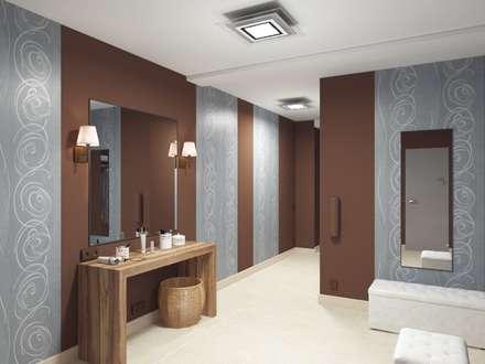 Saunas de estilo  por Anastasia Yakovleva design studio