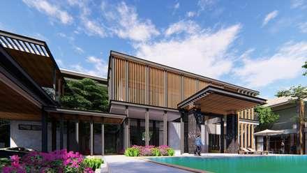 PROJECT: KAI HOUSE :  บ้านและที่อยู่อาศัย by GRID ARCHITECT THAILAND
