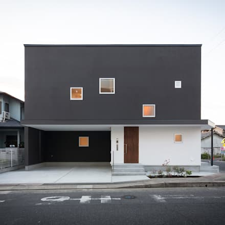 Wooden houses by ラブデザインホームズ/LOVE DESIGN HOMES