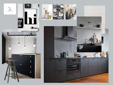 Dapur built in by Studio Room by Room