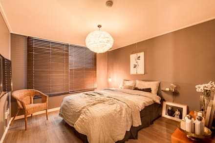moderne Schlafzimmer von 봄디자인