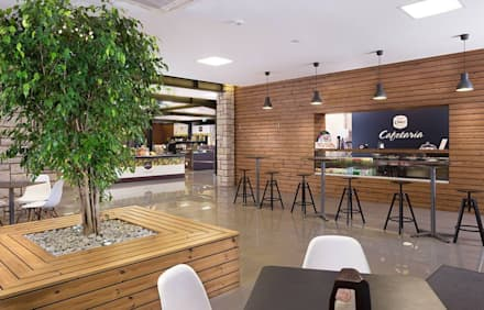 Cafetaria: Adegas modernas por PRX Gabinete de Arquitectura, Lda