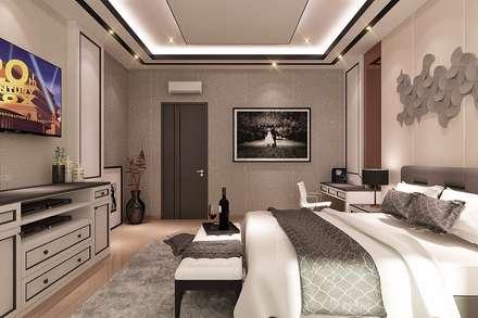 CL house Siantar:  Kamar Tidur by Lighthouse Architect Indonesia