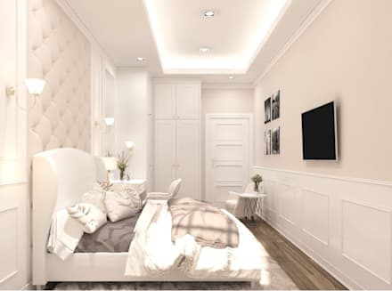classic Bedroom by Lighthouse Architect Indonesia