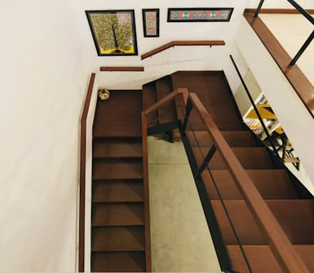 Staircase:  Stairs by Kamat & Rozario Architecture