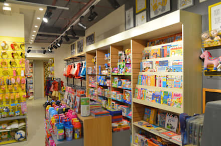 Kids Apparel Store:  Shopping Centres by Vdezin Interiors