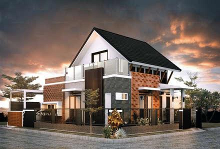 H - House:  Rumah tinggal  by Axis Citra Pama