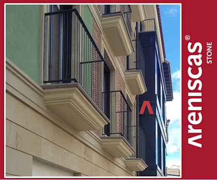 Recercos - Surrounds - Encadrement: Hoteles de estilo  de ARENISCAS STONE