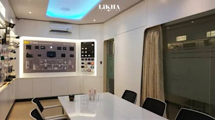 Ruang Rapat ( Area Display):  Kantor & toko by Likha Interior
