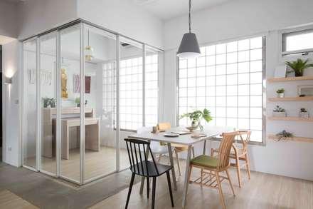 放。鬆宅 :  餐廳 by 文儀室內裝修設計有限公司