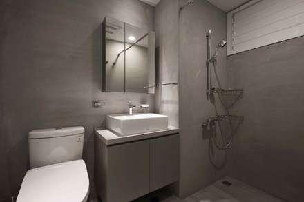 放。鬆宅 :  浴室 by 文儀室內裝修設計有限公司