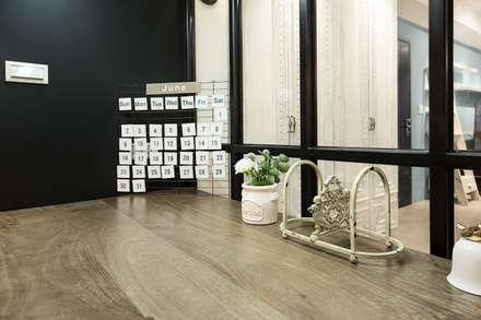 mediterranean Study/office by 文儀室內裝修設計有限公司