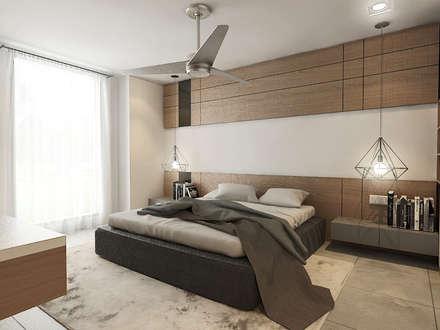 Master Bedroom : modern Bedroom by Verde Design Lab