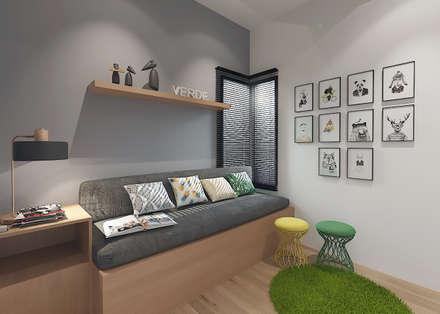 Медиа комнаты в . Автор – Verde Design Lab