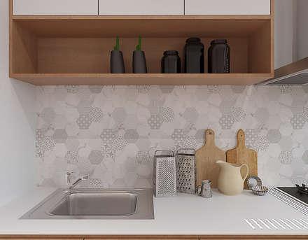 Kitchen : rustic Kitchen by Verde Design Lab
