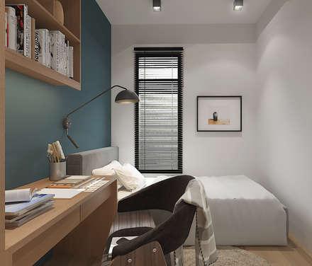 Estudios y despachos de estilo rústico por Verde Design Lab