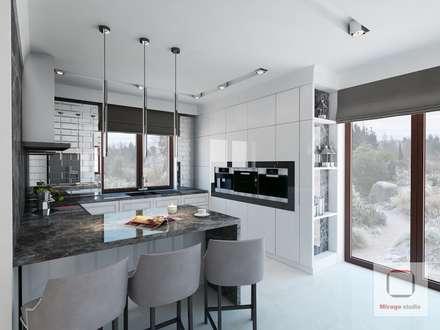 Built-in kitchens by MIRAGE STUDIO Sebastian Rzymski