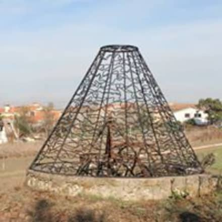 Rund: Lagoas de jardins  por Atelier ferro quente
