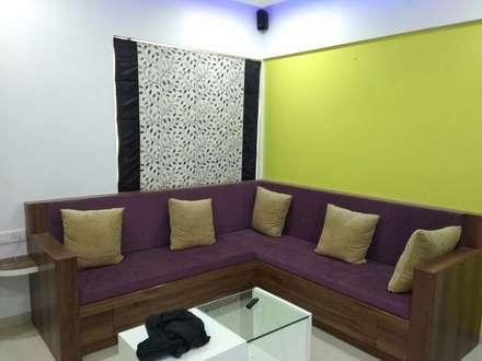 moderne Wohnzimmer von Vasuweta Interior Space